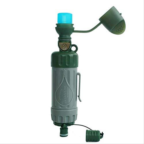 yzdhaxa Équipement d'urgence Portatif Multifonctionnel Purificateur d'eau Extérieur pour Les Outils De Survie De Camping Équipement d'eau Potable Direct
