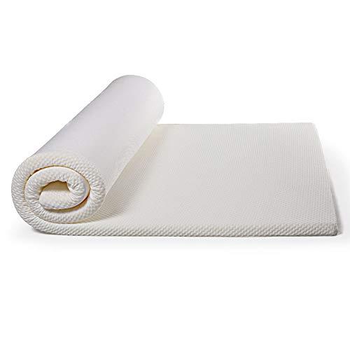 WT Single memory foam matras, opvouwbare gebreide stof student spons matras - anti-slip non-displacement + ultra-rustige bescherming pad 1000 * 2000 * 30mm