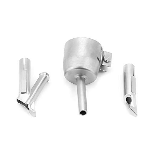 Puntas de pistola de calor, punta de boquilla de soldadura de plástico, aleación de titanio para pistola soldadora para pistola de aire caliente de vinilo