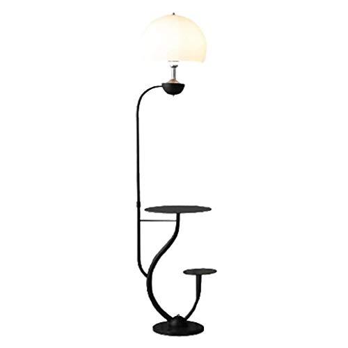 GLXLSBZ Lámpara de pie Lámpara de pie Moderna de pie, estantes de lámpara de Lectura de pie, para lámpara de pie de Sala de Estar