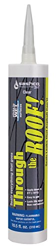 Through The Roof! Cement & Patching Sealant 10.5Fl.Oz, Pack of 6