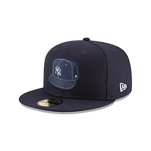 New Era Gorra New York Yankees Caps on Caps MLB 59Fifty Visera Plana