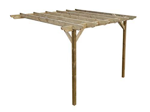 Wooden Garden Lean-to Pergola Kit