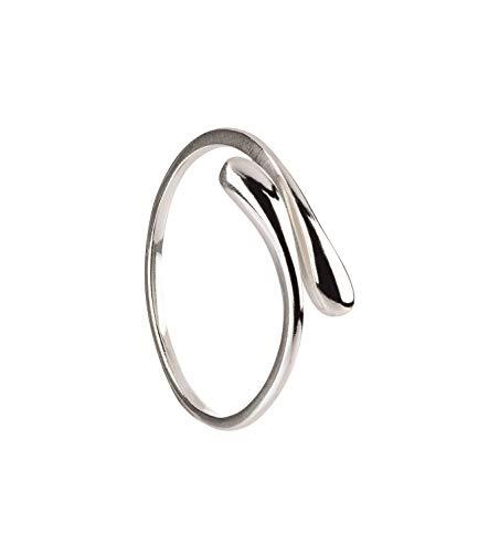 SIX Ring aus 925er Silber flexibel Gr. 52 (728-869)