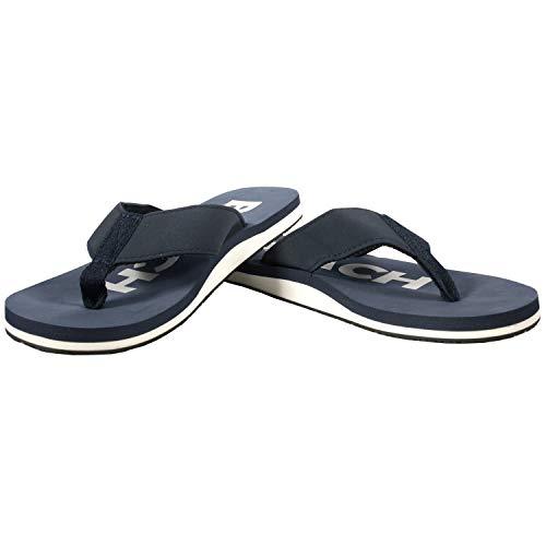 Ultrapower Flip-On Zehentrenner | Flip Flops | Badelatschen | Strandschuhe | Duschlatschen | Zehenstegpantolette | Freizeit | Bad | Sauna Schuhe | Sandalen | ZT1, | :D.Blau/Weiß, Größe:39 / UK 5.5
