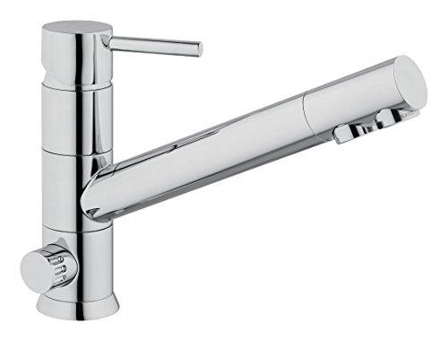 3-Wege-Armatur LUCA Chrom für AMWAY eSpring Wasserfilter geeignet ! Küchenarmatur , Spültischarmatur , Mischbatterie , Dreiwege Wasserhahn