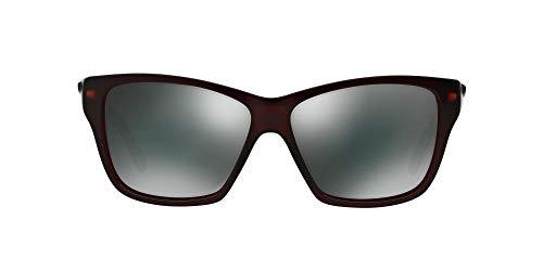 Oakley Damen Sonnenbrille Hold On, Schwarz (Frosted Rhone), 58