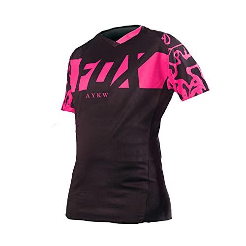 2021Fahrrad-Downhill-Trikot Fox MTB-Trikot Motocross-T-Shirt Fahrrad-Trikot Frau Radfahren Langarmshirts Für-XXL