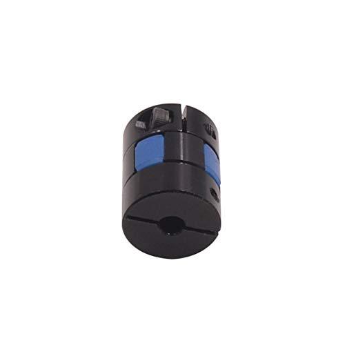 XBaofu 1pc Kugelgewindekupplung Schwarz D 20mm L 25mm Blue Star Plum förmige Klemm Flexible Kupplung Wellenkupplungen Encoder Schrittmotor (Farbe : 1pc, Größe : 5mm to 8mm)