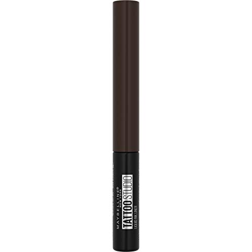 Maybelline New York Tattoo Liner Liquid Ink, Semi-Permanenter Eyeliner, 36h Perfekter Halt Und Tattoo-Intensität, Nr. 720 Dark Henna Brown