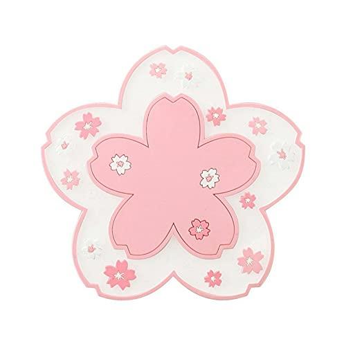 Estilo japonés flor de cerezo Coaster Placemat PVC aislamiento térmico Pad a prueba de calor Bowl Mat antideslizante aislamiento Coaster