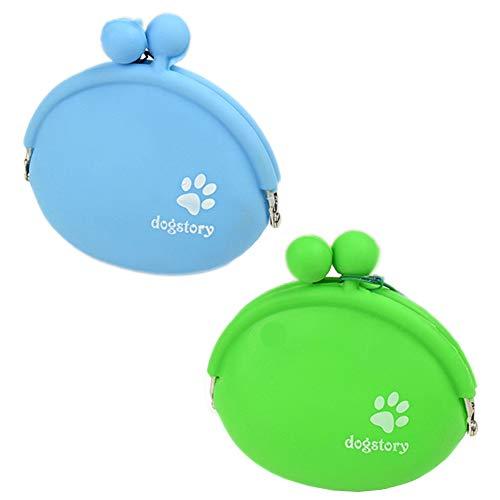 Sacchetto di Cibo per Cani in Silicone, Porta Premi per Borsa Addestramento Cane Borsa Snack per Cani Porta Cibo per Cani per Camminare Custodia Allenamento Animali Domestici Addestramento Portatile