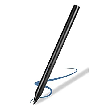 12.3  Surface Pro 7 Stylus Pen Palm Rejection,1024 Levels Pressure Active Stylist Pens Compatible with Microsoft Surface Pro 7,Rechargeable Surface Pro 7 Pen with 1.2mm Soft Fine Tip,Black