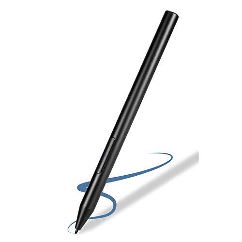 Stylus Pen for Surface Go 2,1024 Levels Pressure Active Stylist Pens Compatible with Microsoft Surface Go 2 Pencil,Rechargeable Surface Go Pen,Black