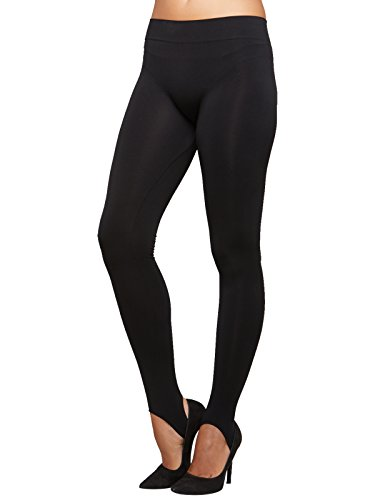 SENSI' Leggings Damen mit Steg Nahtlos Seamless Mikrofaser Made in Italy