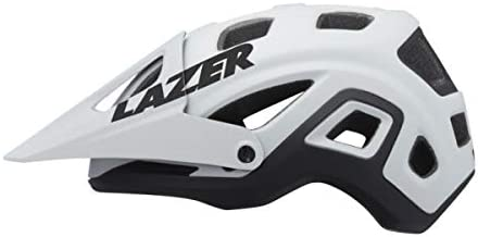 Lazer Casco Impala MIPS Mate (L) Ciclismo, Adultos Unisex, Blanco(Blanco)