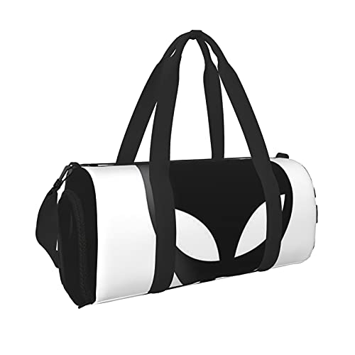 Alien Durable Gym Overnight Travel Men Women Bolsa de lona ligera con bolsillo interior de viaje deportivo