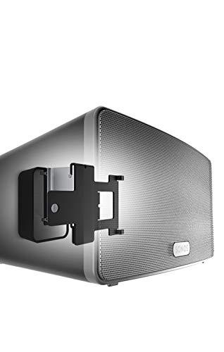 Vogel\'s SOUND 4203 Lautsprecher Wandhalterung für Sonos Play:3, schwarz, 1 halterung