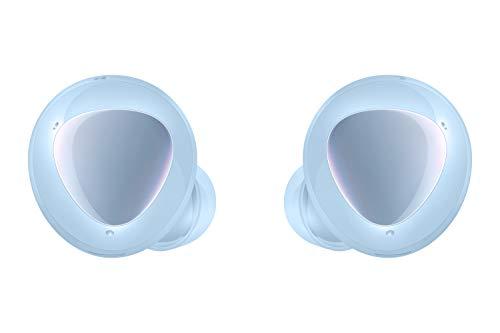 Samsung Galaxy Buds+, kabellose In-Ear Kopfhörer mit Zwei-Wege-Lautsprechersystem, Bluetooth, Sound by AKG, drei Mikrofonen, QI-kompatibel, Blau