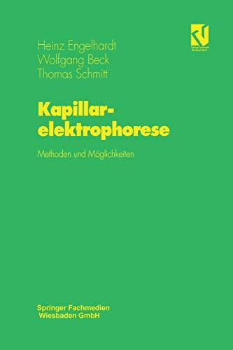 Kapillarelektrophorese: Methoden und Möglichkeiten