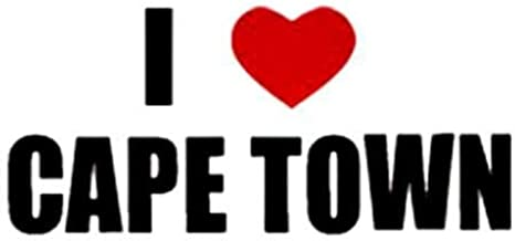 PressFans - I Love Cape Town South Africa Decal Car Laptop Wall Sticker