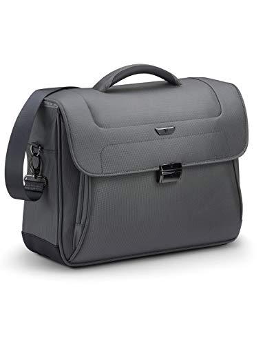 RONCATO Work borsa porta pc & tablet 2 comparti con tracolla Antracite