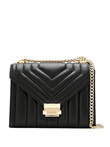 Luxury Fashion | Michael Kors Dames 30F8GXIL3T001 Zwart Leer Schoudertassen | Lente-zomer 20