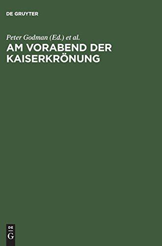Am Vorabend Der Kaiserkrönung: Das Epos Karolus Magnus Et Leo Papa Und Der Papstbesuch in Paderborn 799
