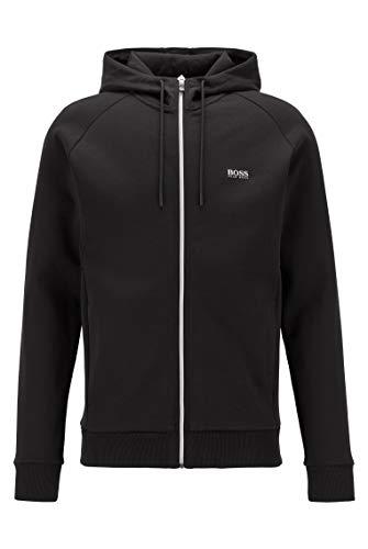 BOSS Herren Saggy 1 Sweatshirt, Black (9), XXL EU