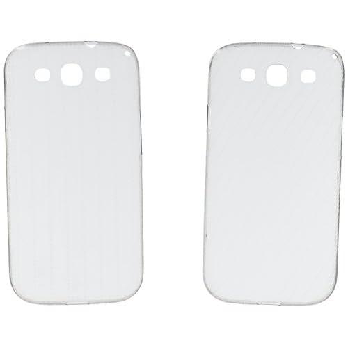 Samsung EFC-1G6SWECSTD Cover Bumper per Galaxy S3, Transparente [Confezione da 2]