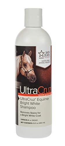 UltraCruz - sc-395301 Equine Bright White Horse Shampoo, 16 oz