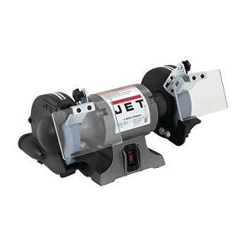 JET 577101 Model JBG-6A 1/2 HP 1-Phase 115V 6  Industrial Bench Grinder