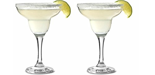 Pasabahce 44386 Margarita Glas Cocktail Glas 305 ml - 2 Stück Profi-Partyglas