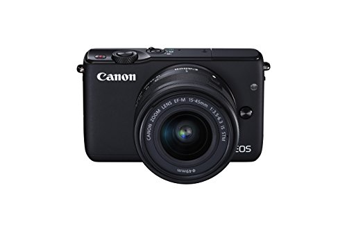 Canon EOS M10 Mirrorless Camera Kit with EF-M 15-45mm Image Stabilization STM Lens Kit