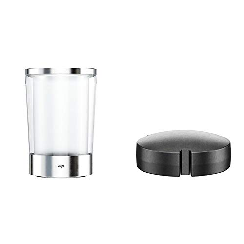 Emsa 514234 Flow Slim Flaschenkühler + 507337 Kühlakku, Für Kühlkaraffen-Serie Flow/Flaschenkühler Flow Slim