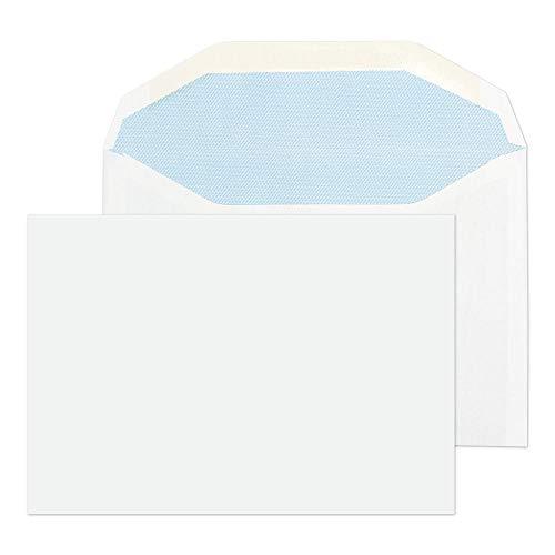 Purely - Sobre con cierre engomado (C6, 114 x 162 mm, 80 g, 1000 unidades), color blanco