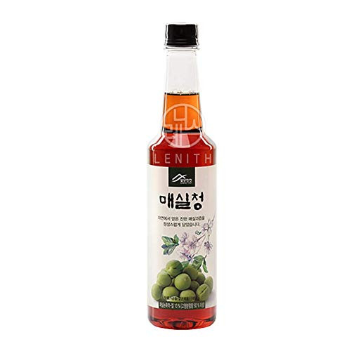 [LENITH] Korean All Purpose Pure Plum Extract Syrup Maesil for Cooking, Tea 매실청 650g 1.43 lbs / 22.92 oz (1 bottle)