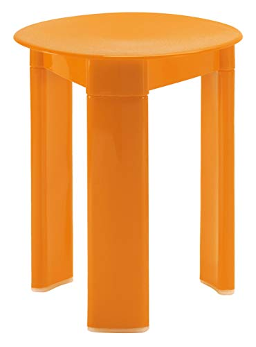 Gedy 20726700300 Taburete, naranja, Color