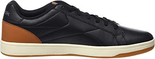 Reebok Royal Complete CLN, Zapatillas de Tenis para Hombre, Multicolor (Black/Brown/Aloy/Chalk/Gu 000), 41 EU