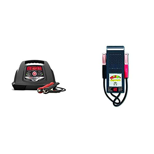 Best Price! Schumacher SC1281 6/12V Fully Automatic Battery Charger and 30/100A Engine Starter with ...