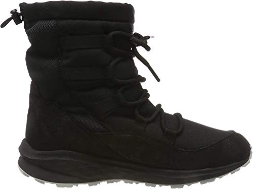 Jack Wolfskin Women's Nevada Texapore Mid W Hiking Boot, Black/Black, 8