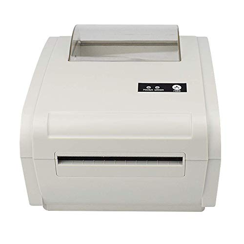 Kacsoo Direct Thermal Label Printer, High Speed Support USB & Bluetooth, One Click Set up 4'' X 6'' High Speed Desktop Shipping Label Barcode Printer Maker
