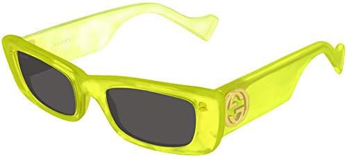 Gucci Sonnenbrillen GG0516S Yellow/Grey Damenbrillen