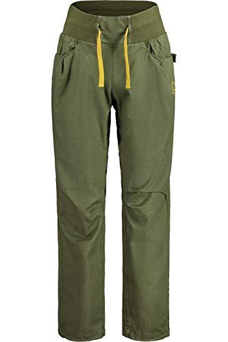 Maloja M Carolinam. Hose Grün, Damen Hose, Größe M - Regular - Farbe Moss