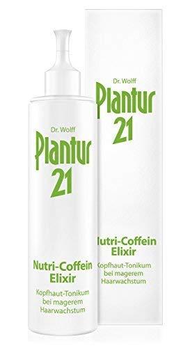 Plantur 21 Nutri-Coffein-Elixir – Haarwasser zur Verbesserung des Haarwachstums – mit 24 Stunden Wirkstoffdepot – unabhängig von der Haarwäsche anwendbar – 1 x 200 ml