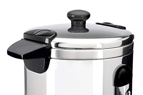 Global Gourmet 8.8 Litre (35 Cups) Stainless Steel Catering Hot Water/Tea Urn | Instant Water Heater, Boiler and…