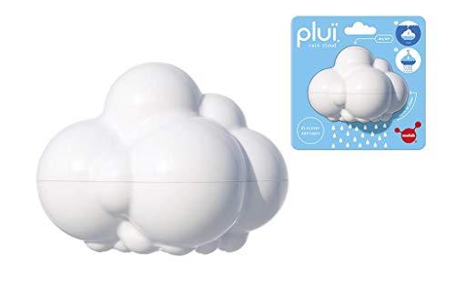 MOLUK PLUI Nuage de Pluie Blanc 9x6.5x7cm, sur Carte 12.5x6.5x12.5cm, 2+