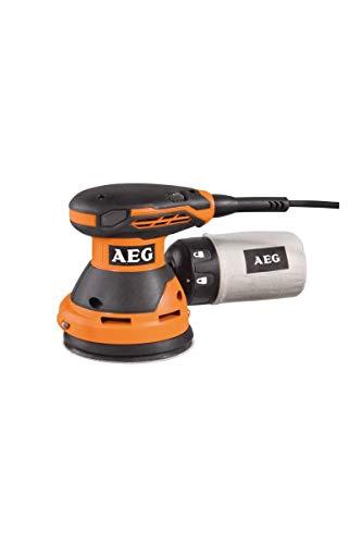AEG Ponceuse Excentrique EX125ED-SET - 300 W - Ø 125 mm