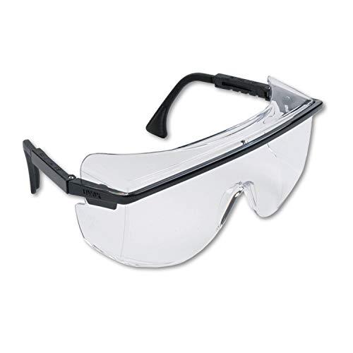 Uvex by Sperian 763-S2500 Uvex Astro Otg 3001 Schutzbrille Black Frame