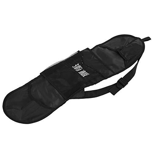 Aigend Skateboard Bag - wasserdichte Longboard Tasche Skateboard Aufbewahrungsrucksack Longboard Tragetasche Zubehör, Schwarz